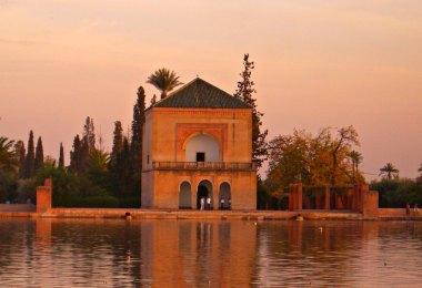 Menara Gärten in Marrakesch
