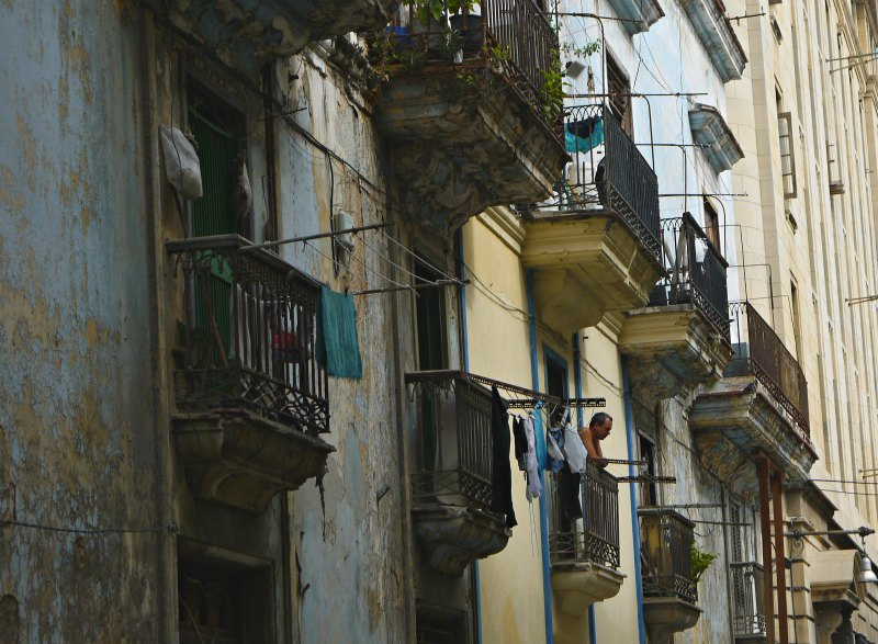 Straßenszenen in Kuba's Hauptstadt Havanna