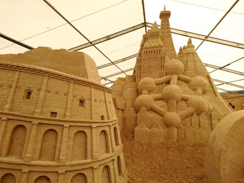 Sandskulpturen Festival Usedom: Europa