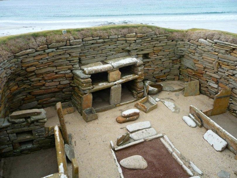 Skara Brae auf den schottischen Orkney Inseln