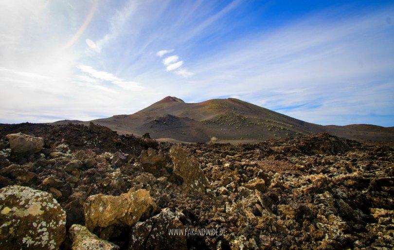 Lanzarote: Berglandschaft