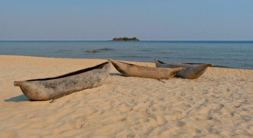 Strand am Malawi See, Kande Beach - Afrika