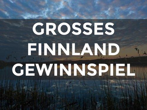 Finnland Gewinnspiel