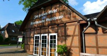 Schlemmen und Übernachten in der Grünen Eiche in Bispingen / Lüneburger Heide