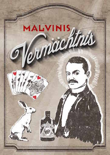 Malvinis Vermächtnis Plakat