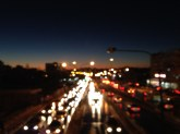 City lights [Amman, Jordan].