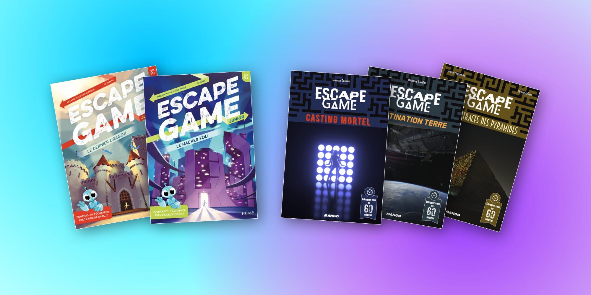 Escape Game 5 Nouveaux Livres Jeux Pour Les Grands Et