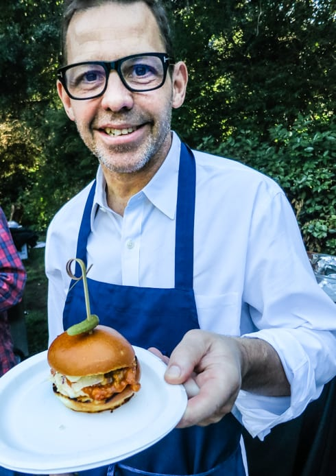 Chef John Tesar hosted the event