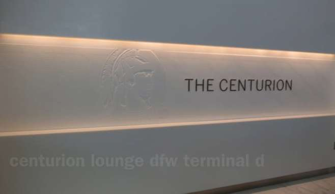 centurion club dfw