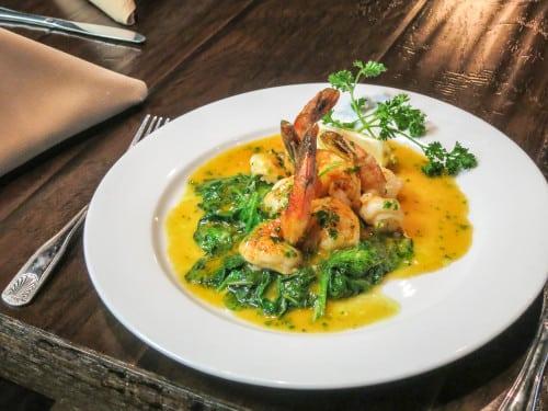 La Perla d'Italia serves a wide variety of Italian dishes.  Bonus: right now, the restaurant is BYOB.