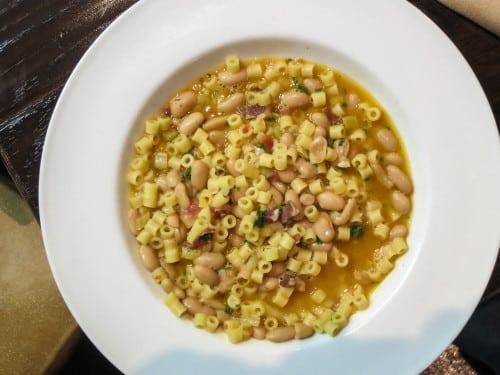 La Perla d'Italia is also a full-service Italian restaurant.