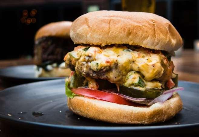 See how chef John Tesar makes this July 4 pimento cheese burger