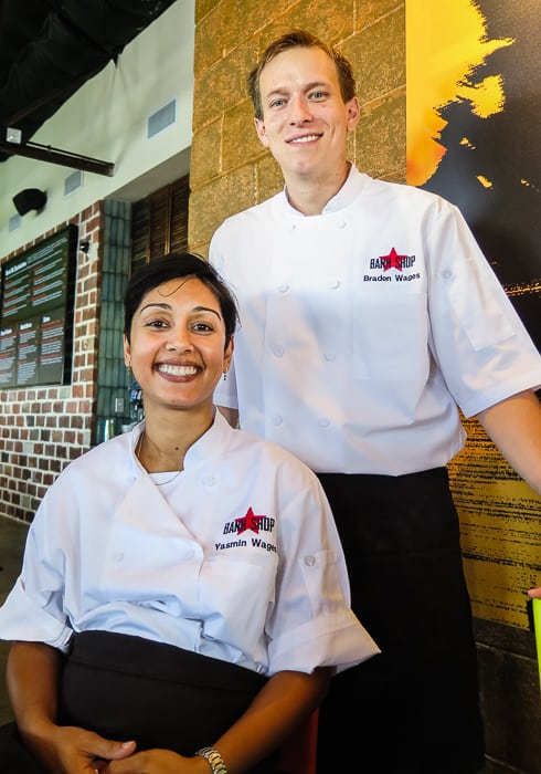 Banh Shop co-creaters Yasmin and Braden Wages, who also own Malai Kitchen