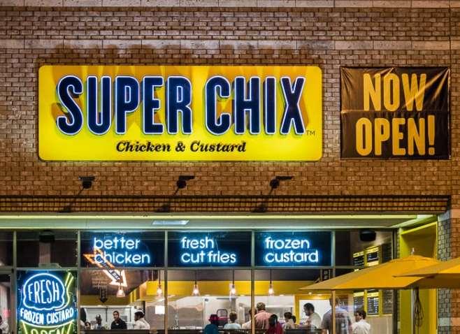 Superchix opening day Dallas YUM Brands copyright Michael Hiller