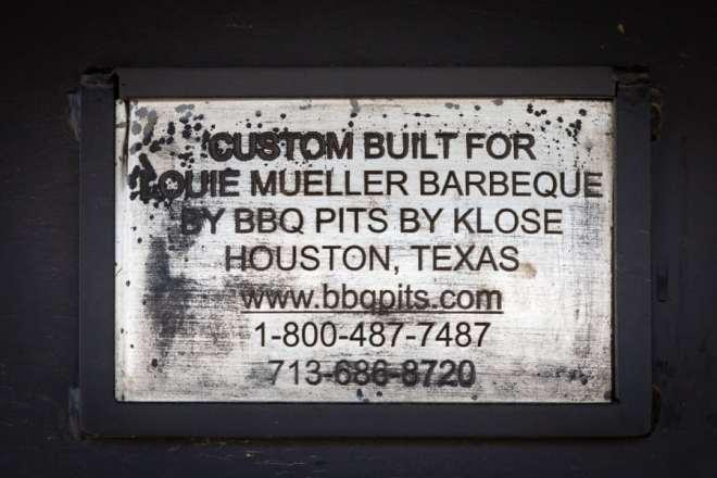 Louie Mueller bbq pits