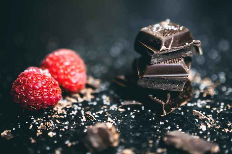 chocolates and raspberries