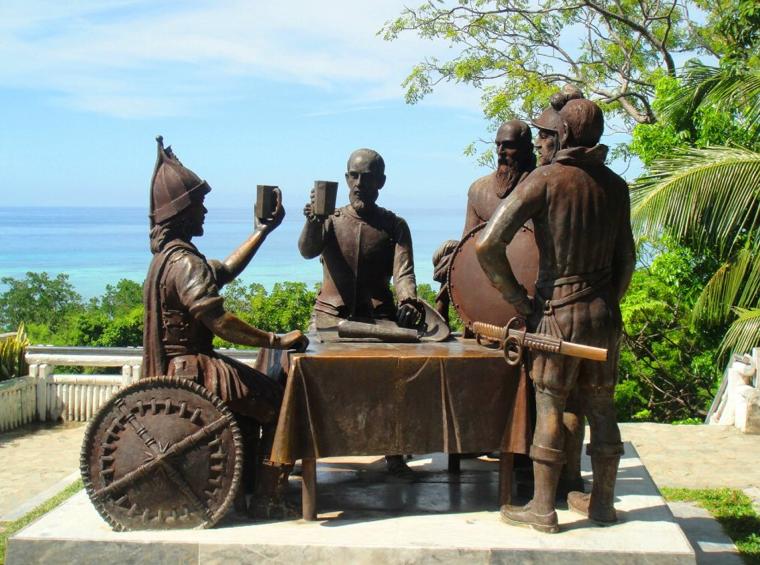 Bohol Blood Compact Monument
