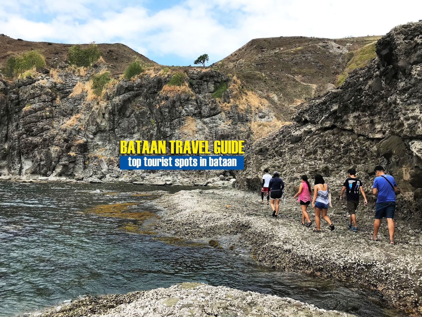 Visiting the Five Fingers Cove of Mariveles, Bataan