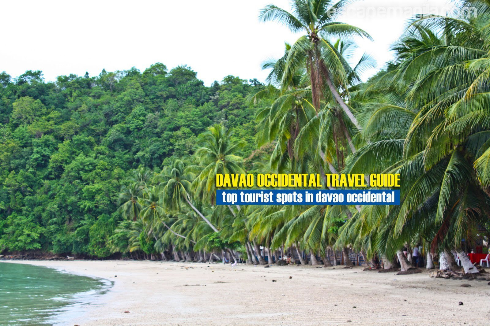 Top Tourist Spots in Davao Occidental [And How To Get There]