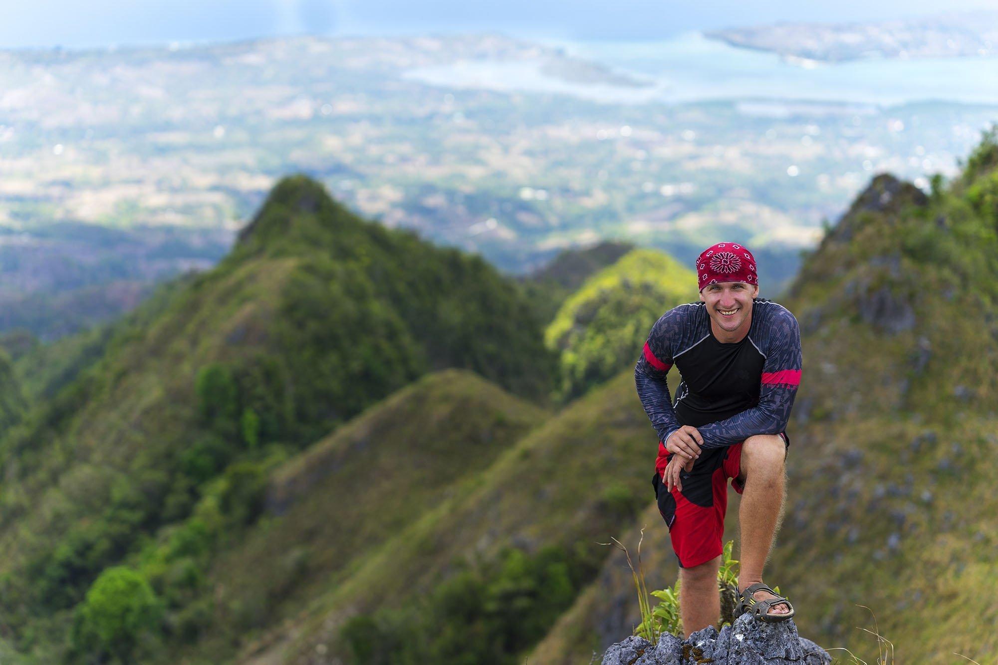 Osmeña Peak, Cebu, Philippines