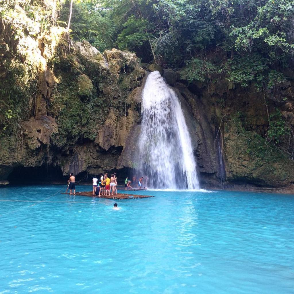 Kawasan Falls - one of the best tourist spots in Cebu