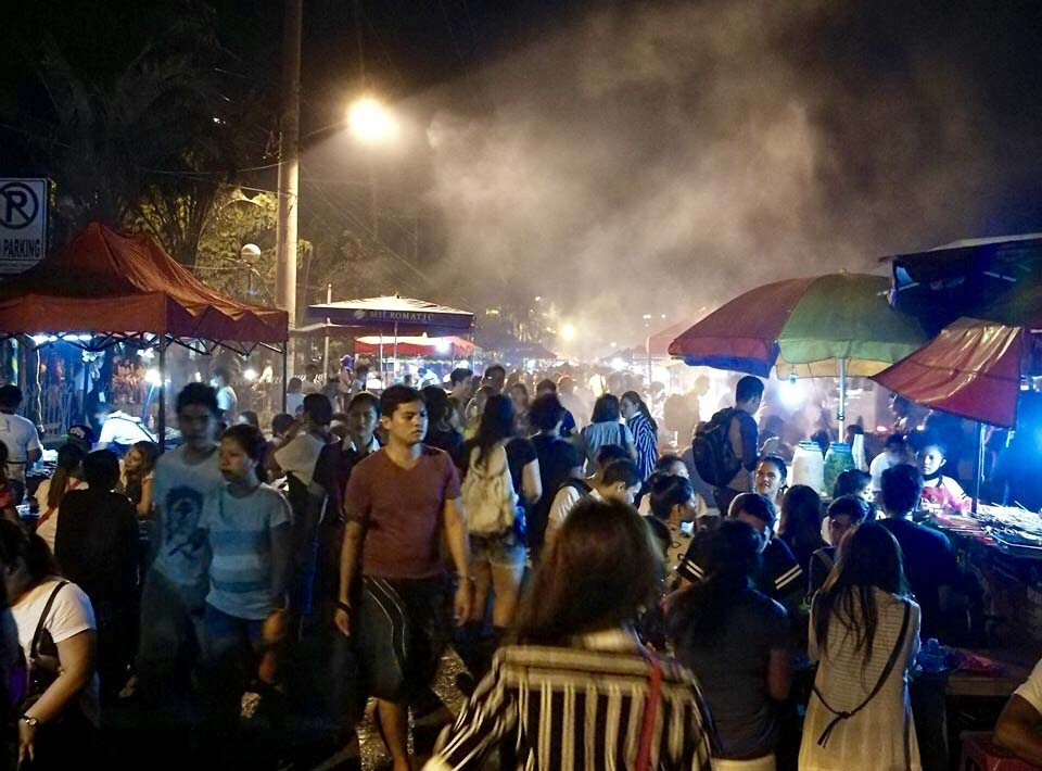 Roxas Night Market, one of the must-visit tourist spots in Davao.