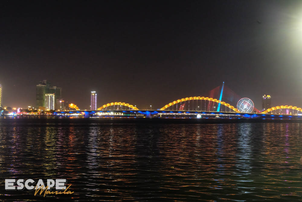 Dragon Bridge over Han River in Da Nang