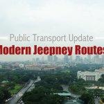 Modern Jeepney Routes in Metro Manila under GCQ