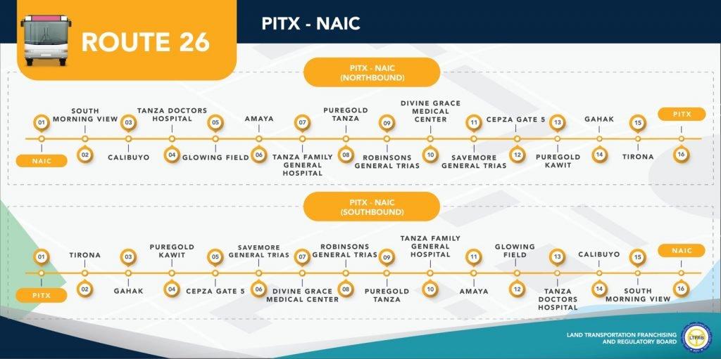 Route 26: PITX-NAIC