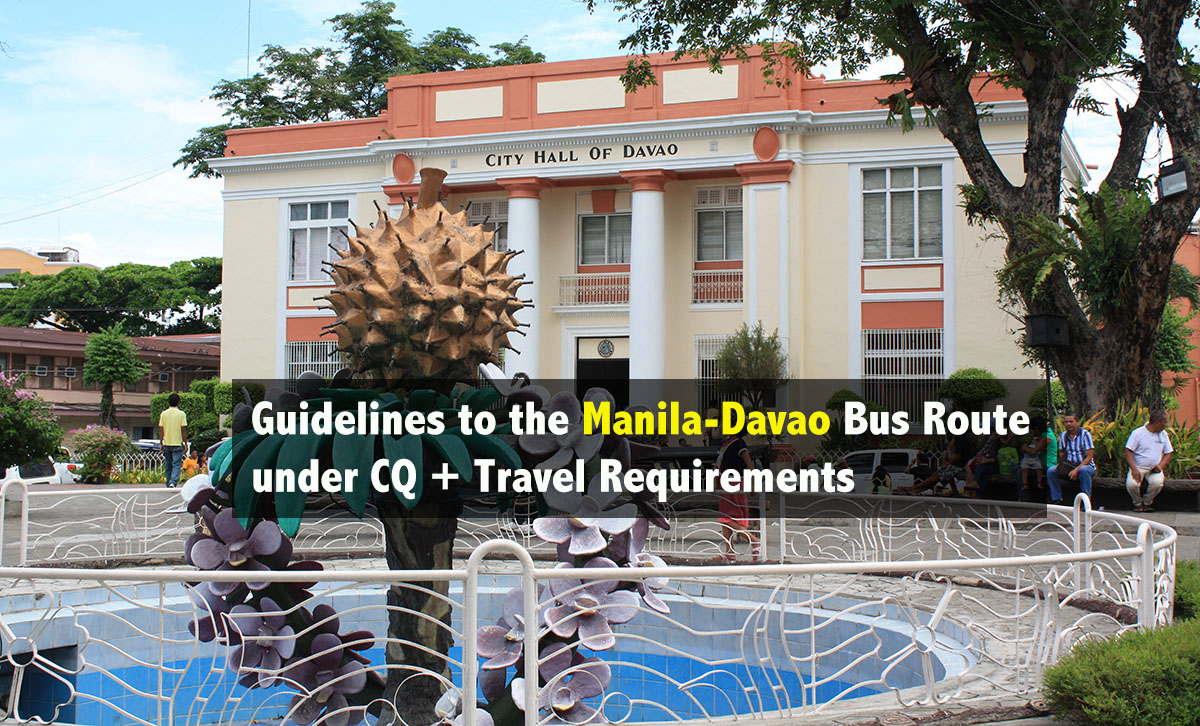 Guidelines to the Manila-Davao Bus Route under CQ + Travel Requirements