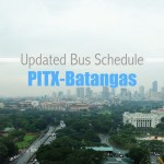 PITX to Batangas Bus Schedule under GCQ