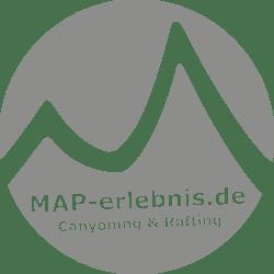 MAP-erlebnis.de Canyoning Rafting Allgäu
