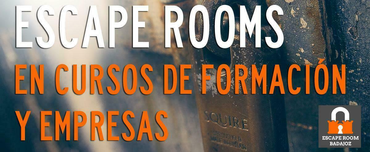 Escape room y cursos de formación