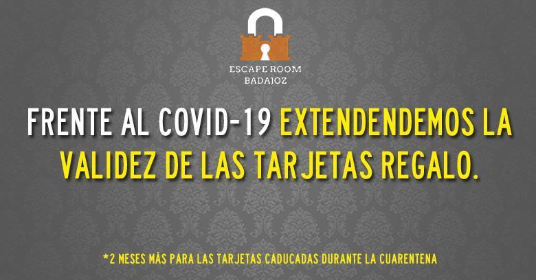 Escape room y COVID-19