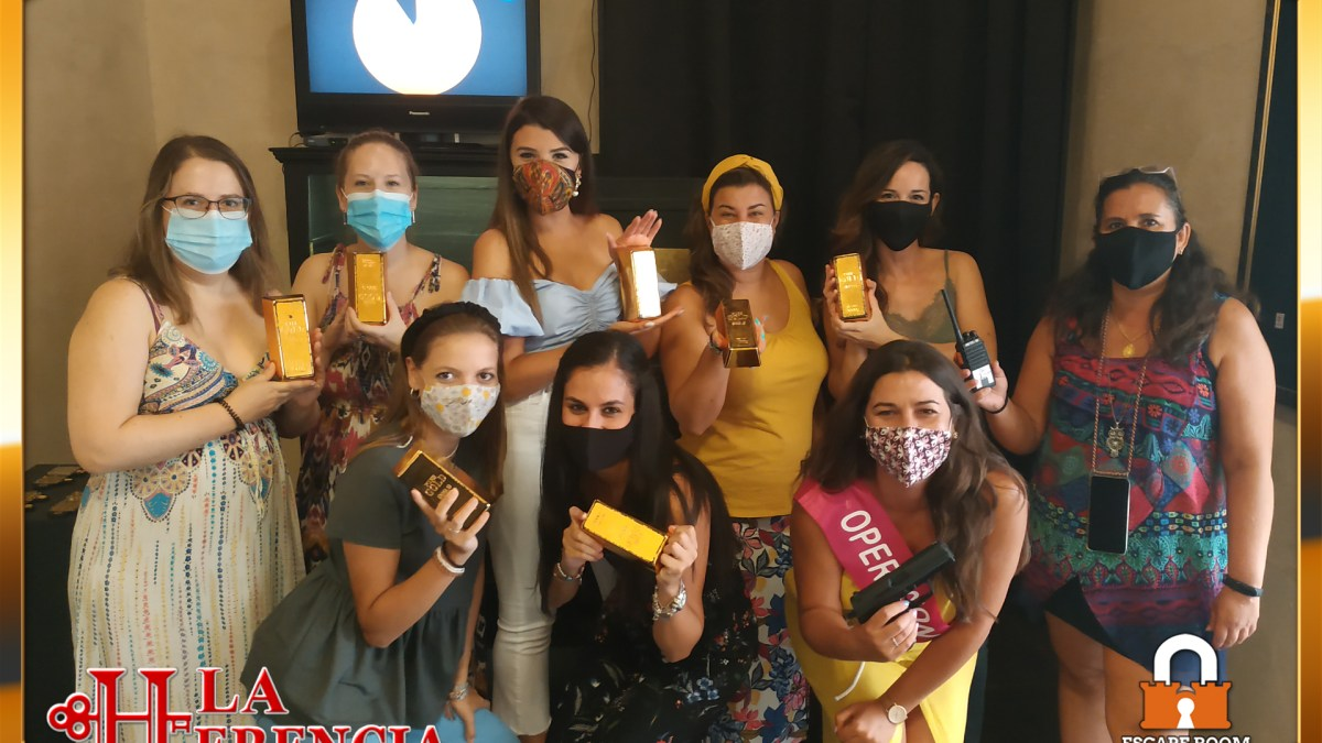 Despedida de soltera con amigas y escape room