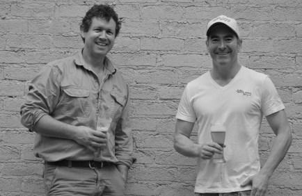 Brewers Cameron James and Ben Twomey pix credit Mindy Hindmarsh