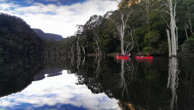 Canoeing Kangaroo River