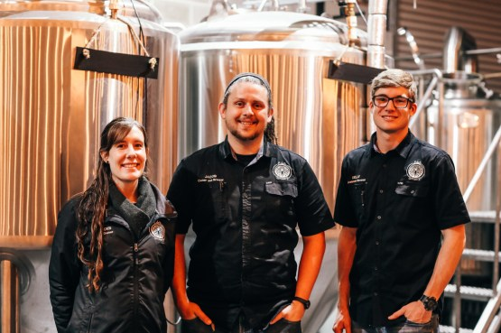 Deb & Jacob Newman & Kelly Colyn, Eden Brewery, MIttagong