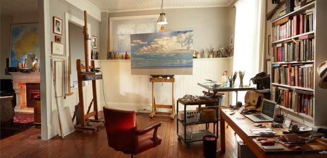 Tim Storrier studio Gary Grealy 2015 Canon0017