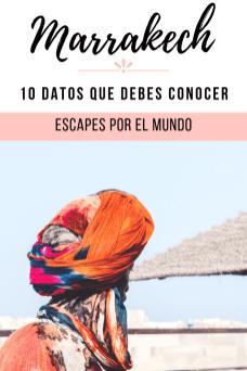 10 Datos que debes conocer antes de viajar a MARRUECOS Pinterest pin