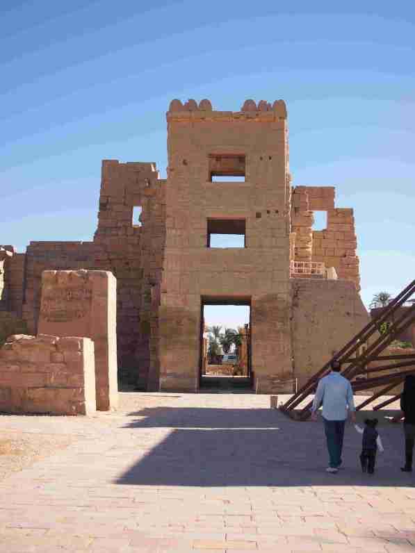 Los 10 Templos imprescindibles del Antiguo Egipto. Templo Ramses III