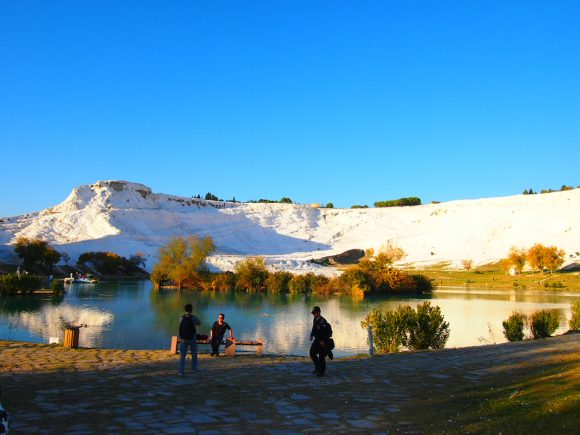 Pamukkale viaje inolvidable - Guía de viaje Montaña Pamukkale parque