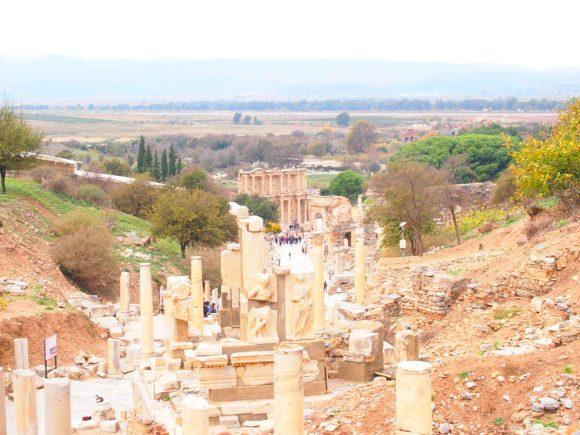 camino de los Curetes Despedida desde Éfeso. Guía de Viaje Turquia
