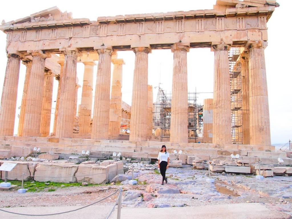 lugares históricos de atenas Partenon