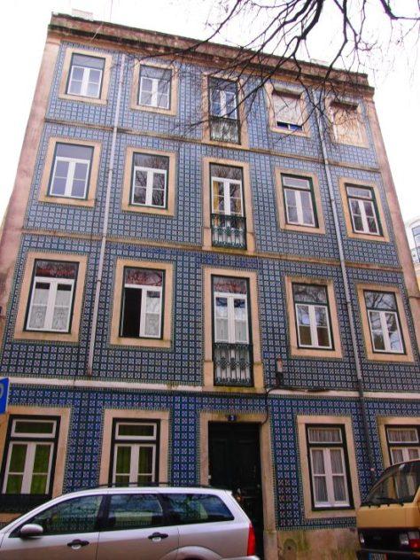 Fotografiando a Lisboa: Guía de viaje, qué ver en 1 día Edificio azulejos