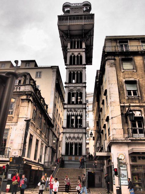 Elevador de Santa Justa Fotografiando a Lisboa: Guía de viaje, qué ver en 1