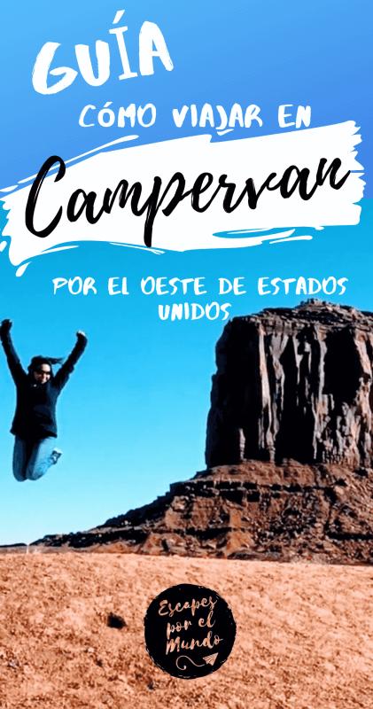 El Viejo Oeste de Estados Unidos en Campervan- Guía 2019