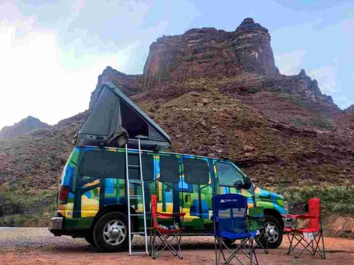 Campervan en Estados Unidos Los 6 parques Nacionales más visitados en un road trips por el Oeste de Estados Unidos