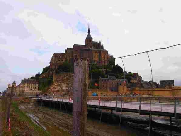 Ruta por Carreteras de europa 2019 Normandia Francia Monte Saint Michel