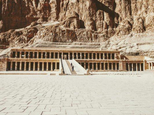 Los 10 Templos imprescindibles del Antiguo Egipto-Templo de Hatshepsut
